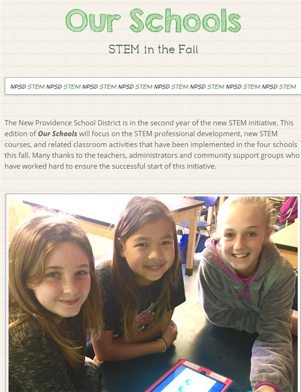 STEM In The Fall at NPSD