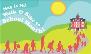walk and bike to school month