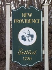 New Providence town sign